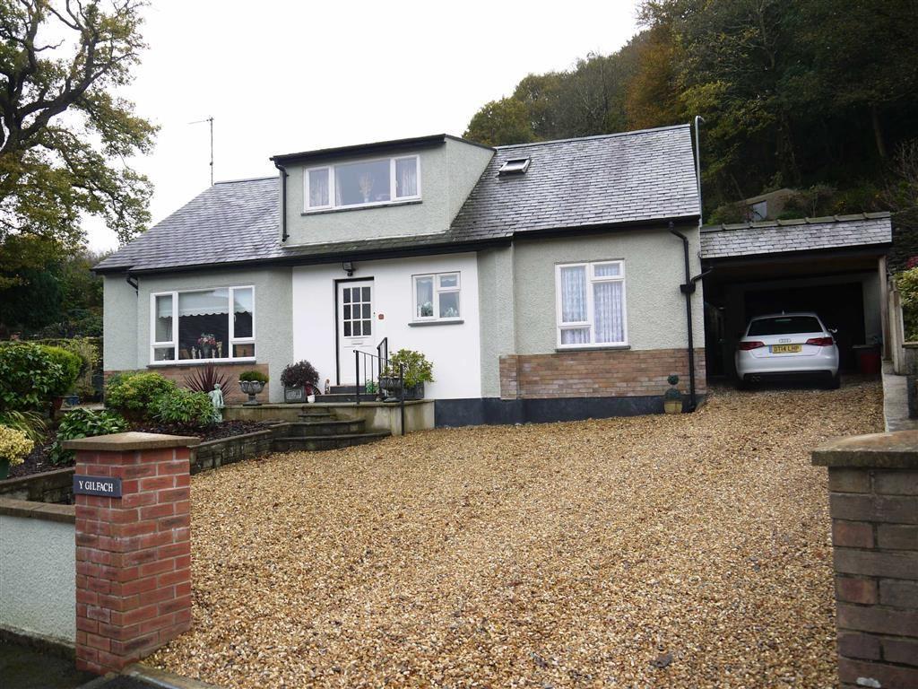 4 Bedrooms Detached House for sale in Y Gilfach, Porthmadog, Gwynedd