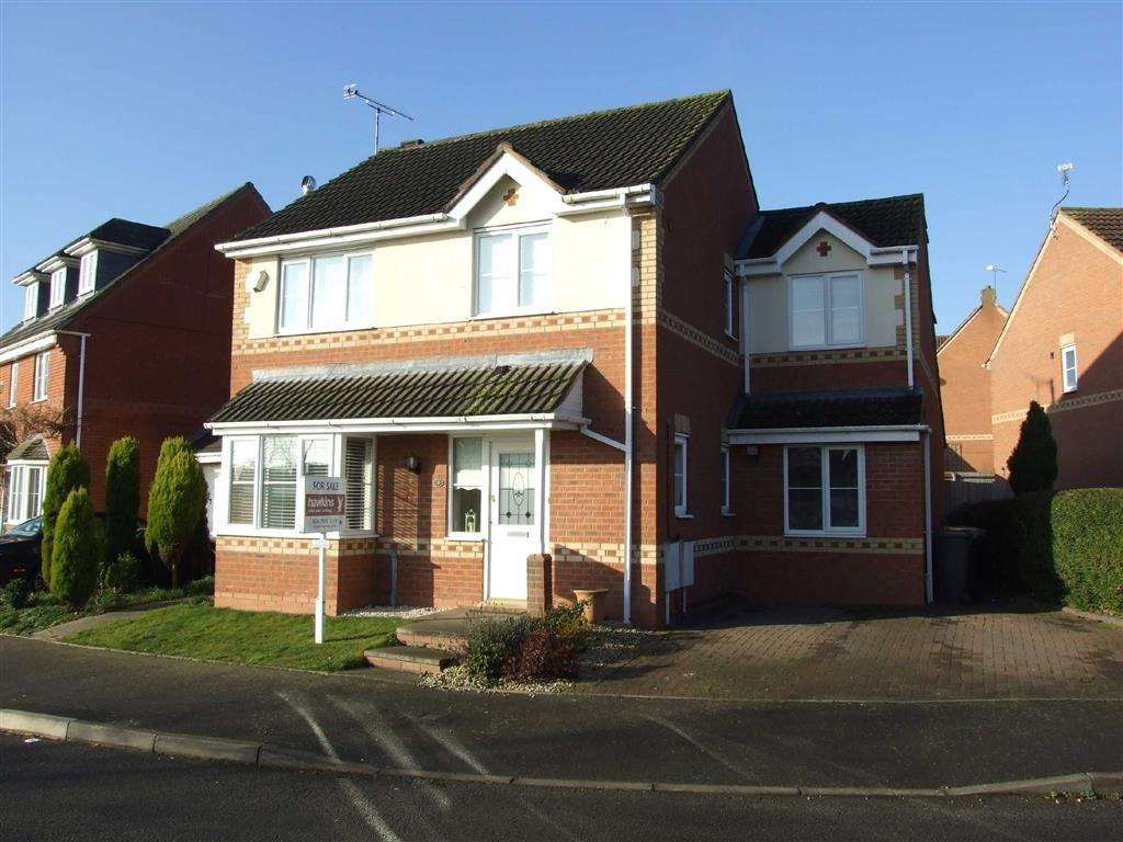 4 Bedrooms Detached House for sale in Celandine Way, Bedworth, Warwickshire