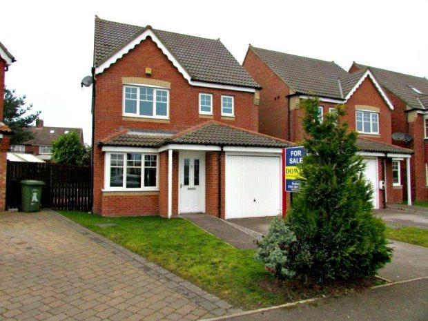 4 Bedrooms Detached House for sale in ELLESMERE CLOSE, HOUGHTON LE SPRING, OTHER AREAS