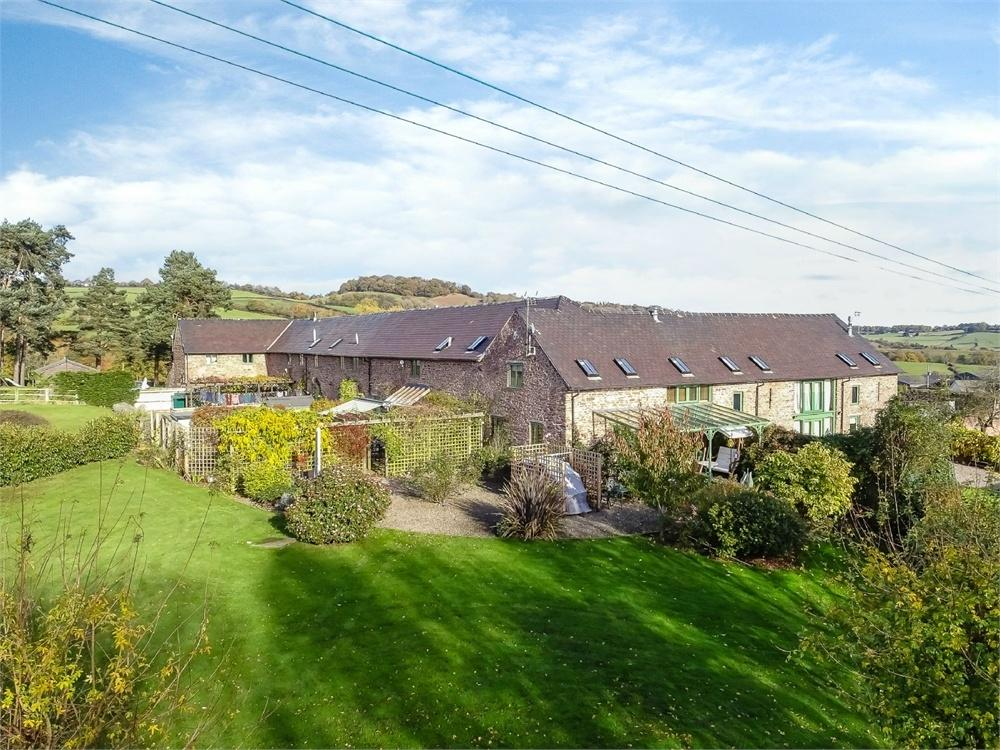 4 Bedrooms Semi Detached House for sale in Great Camdore Barns, Orcop, Herefordshire