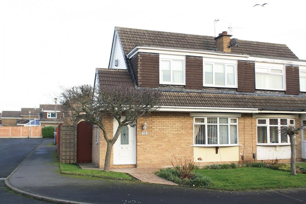 3 Bedrooms Semi Detached House for sale in Siskin Close, Crooksbarn, Norton, TS20