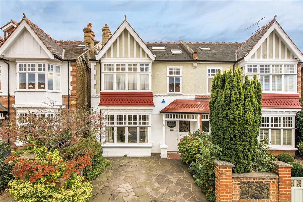 6 Bedrooms Semi Detached House for sale in Gerard Road, London, SW13