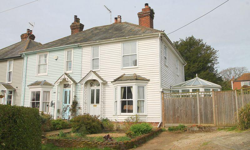 3 Bedrooms Semi Detached House for sale in Vicarage Lane, Elham