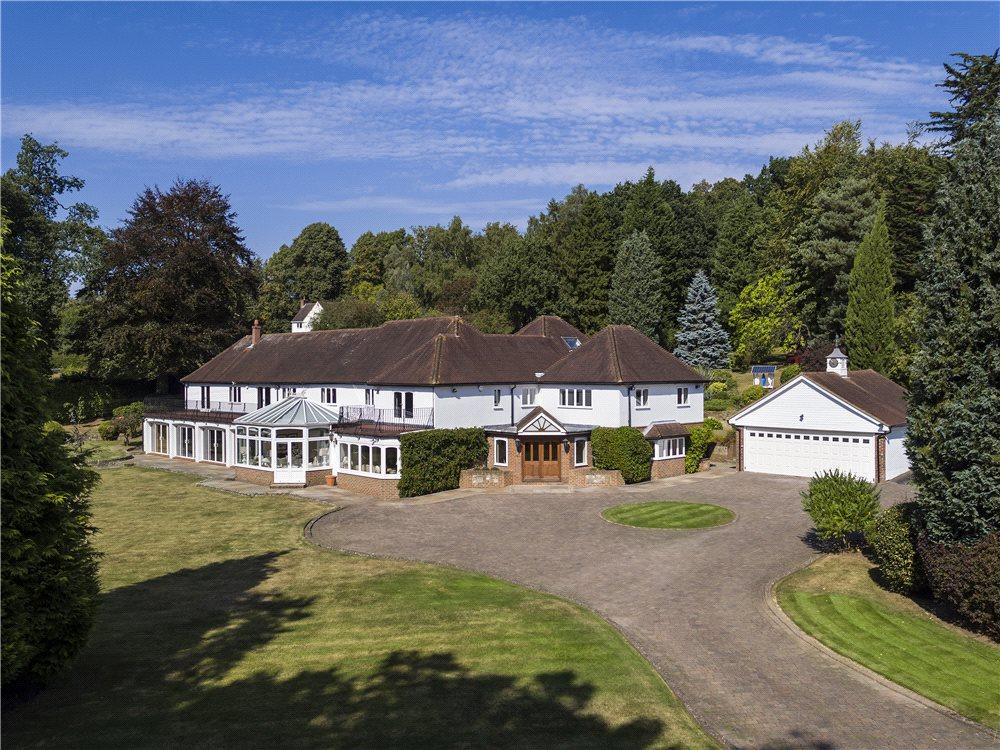 5 Bedrooms Detached House for sale in Grove Road, Seal, Sevenoaks, Kent, TN15