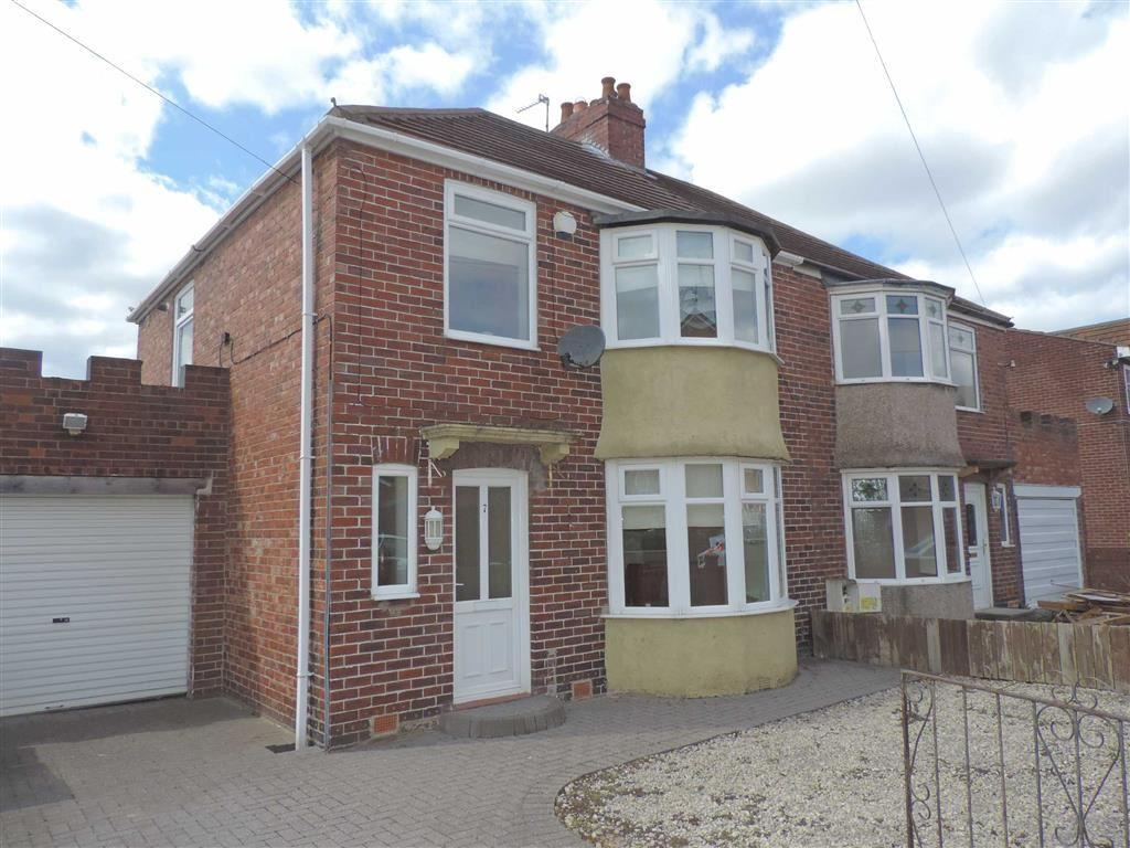 3 Bedrooms Semi Detached House for sale in Poplar Crescent, Birtley, County Durham