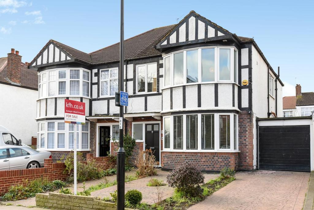 4 Bedrooms Semi Detached House for sale in Lancaster Road, South Norwood, SE25