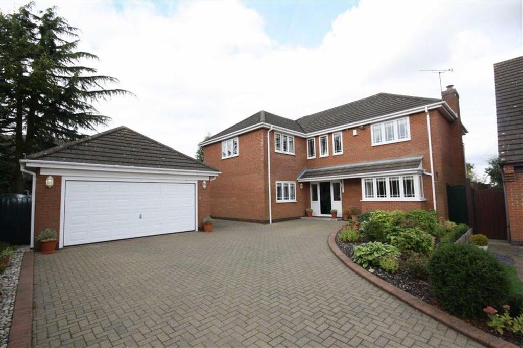 4 Bedrooms Detached House for sale in Lavenham Close, Nuneaton