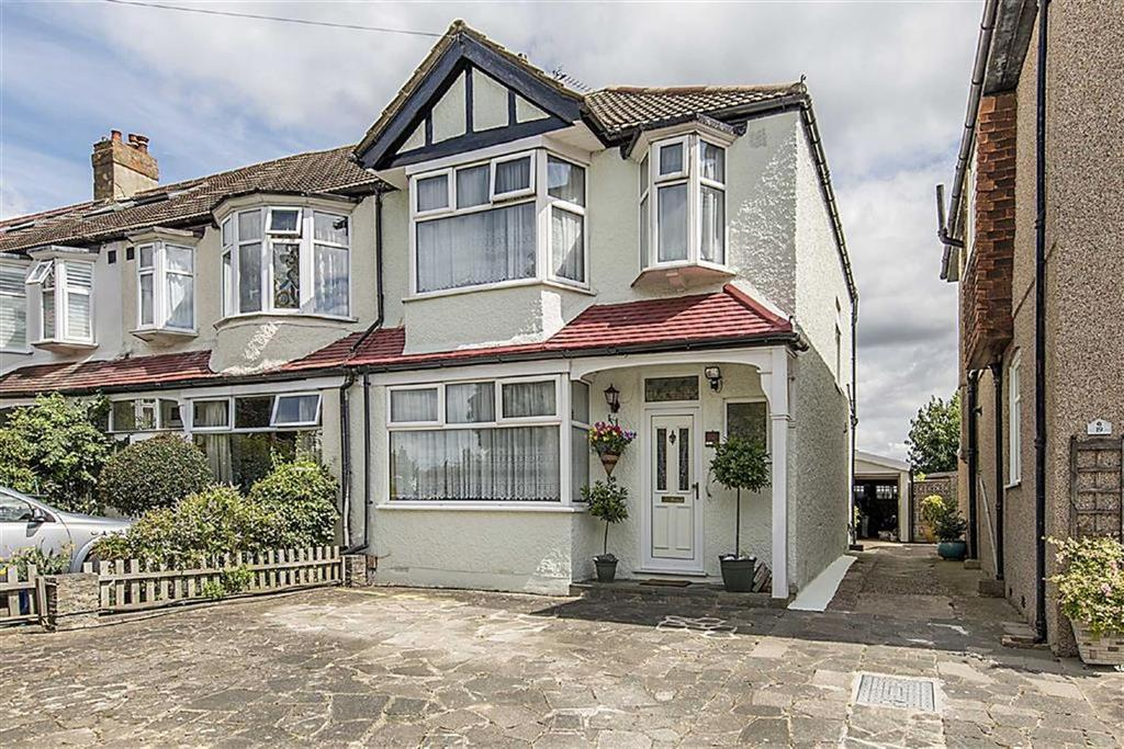 3 Bedrooms End Of Terrace House for sale in Berrylands, Raynes Park, London