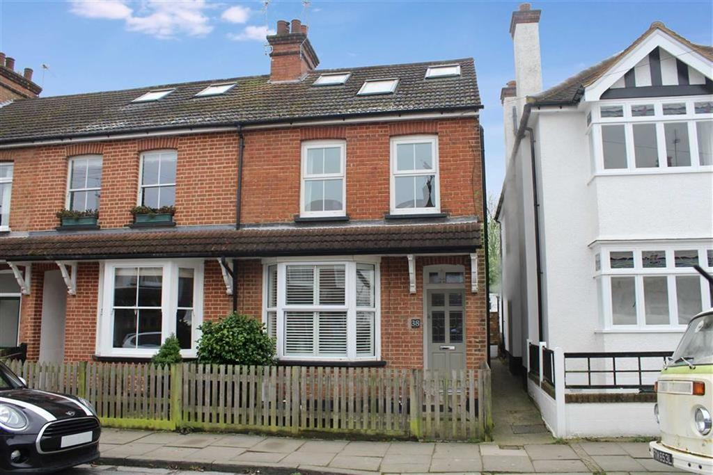3 Bedrooms End Of Terrace House for sale in Burnham Road, St Albans, Hertfordshire