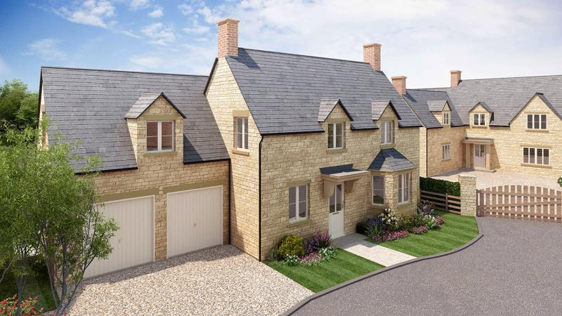 5 Bedrooms Detached House for sale in Plot 6 Wilcote, Limbeck Way, Stonesfield, Witney, Oxfordshire