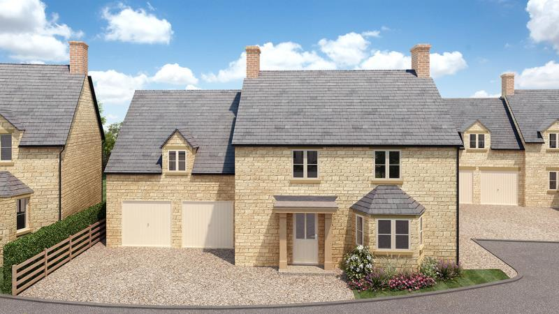 4 Bedrooms Detached House for sale in Plot 9 Evenlode, Limbeck Way, Stonesfield, Witney, Oxfordshire