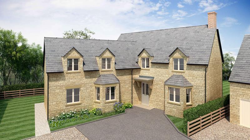 4 Bedrooms Detached House for sale in Plot 8 Littleworth, Limbeck Way, Stonesfield, Witney, Oxfordshire
