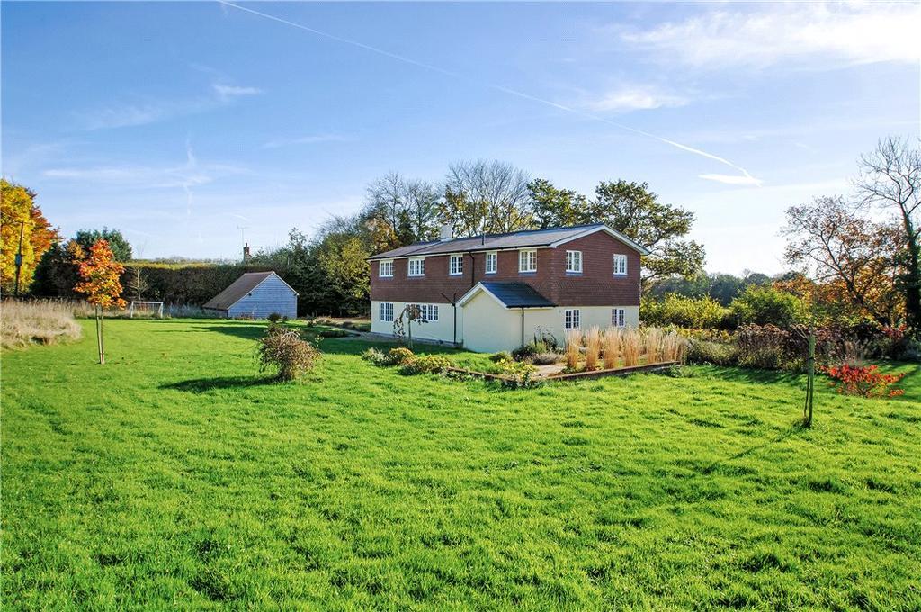 5 Bedrooms Detached House for sale in Old Litten Lane, Froxfield, Petersfield, Hampshire, GU32