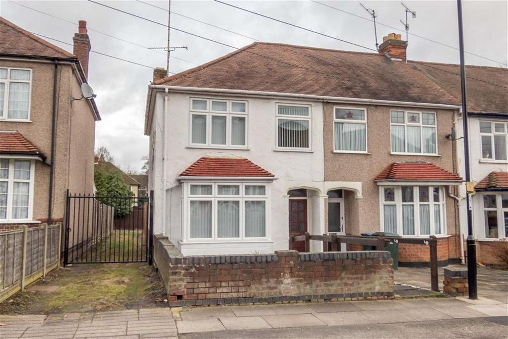 3 Bedrooms End Of Terrace House for sale in Westbury Road, Coundon, Coventry, CV5