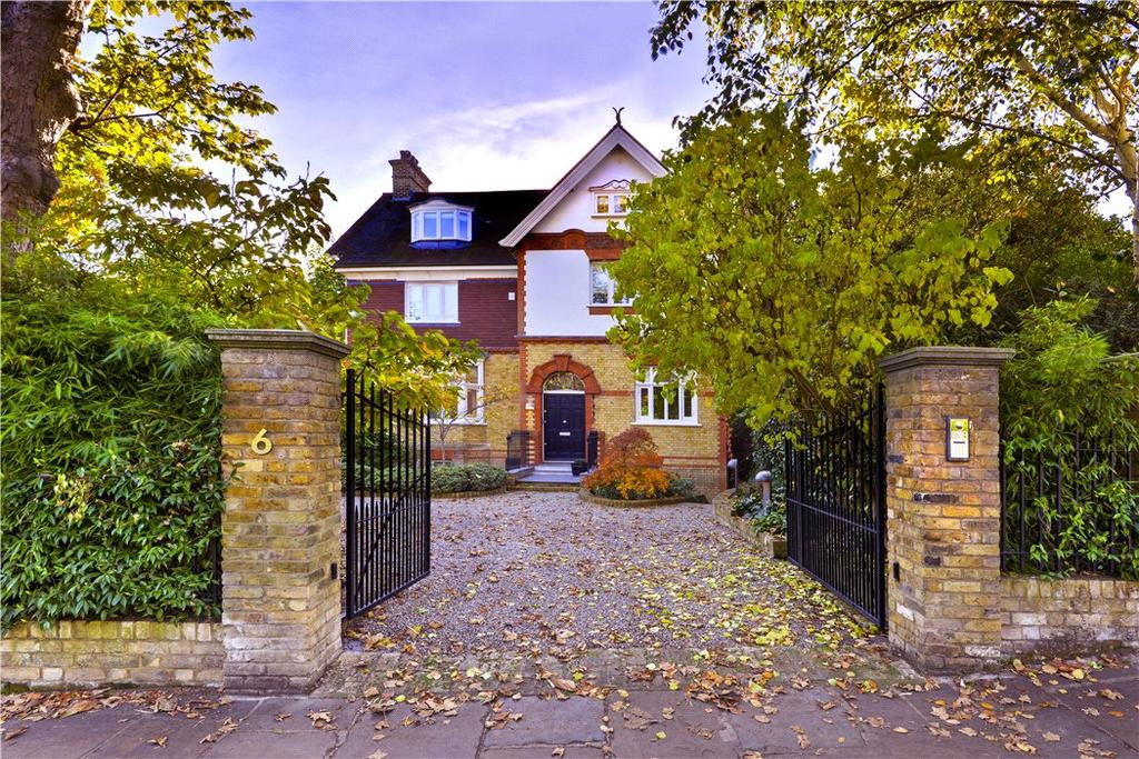5 Bedrooms Detached House for sale in Keats Grove, Hampstead, London, NW3