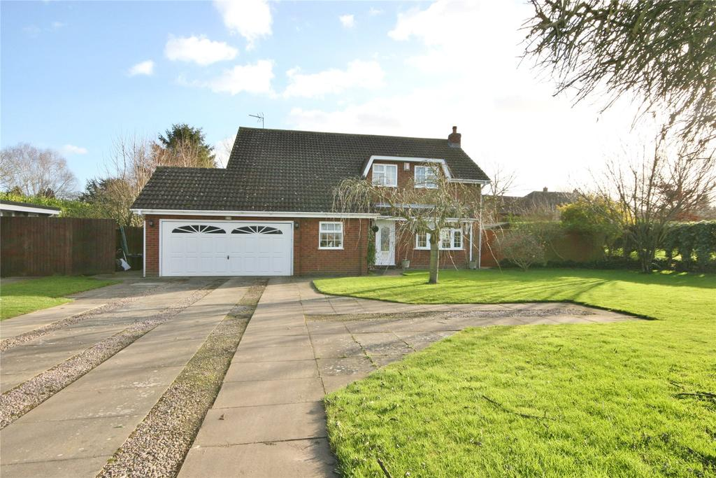 4 Bedrooms Detached House for sale in Seas End Road, Surfleet Seas End, PE11