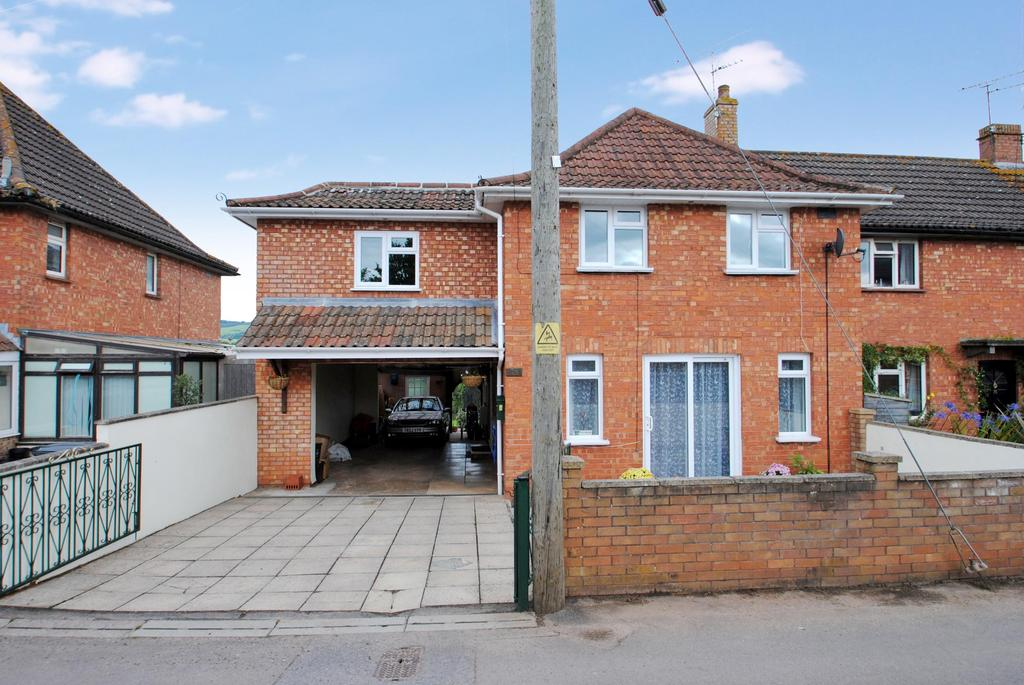5 Bedrooms Semi Detached House for sale in Quantock View, Bishops Lydeard