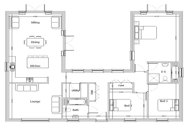 3 Bedrooms Bungalow for sale in Middlesykes Lane, Grimoldby, Louth, LN11
