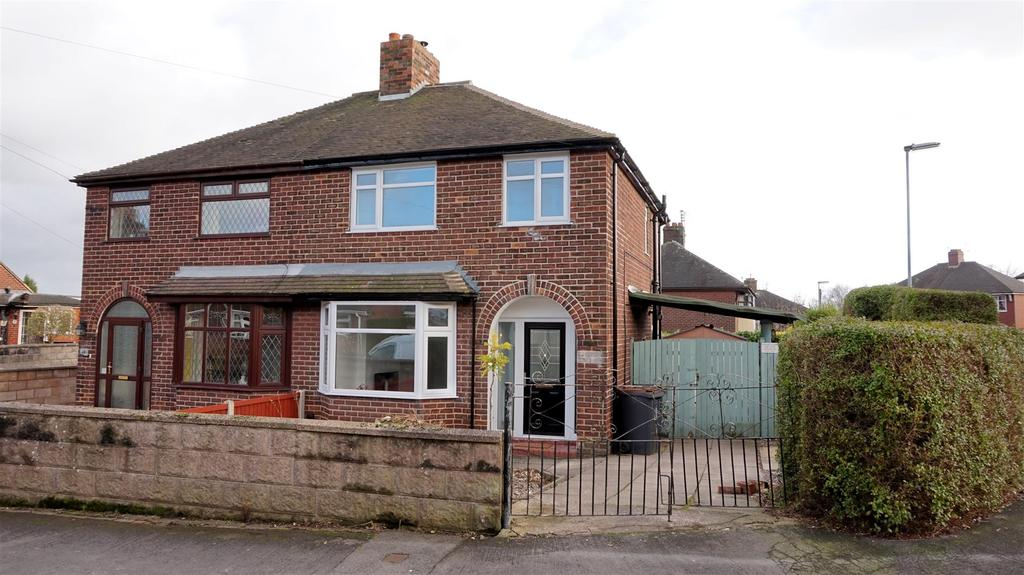3 Bedrooms Semi Detached House for sale in Downing Avenue, Basford, Newcastle, Staffs