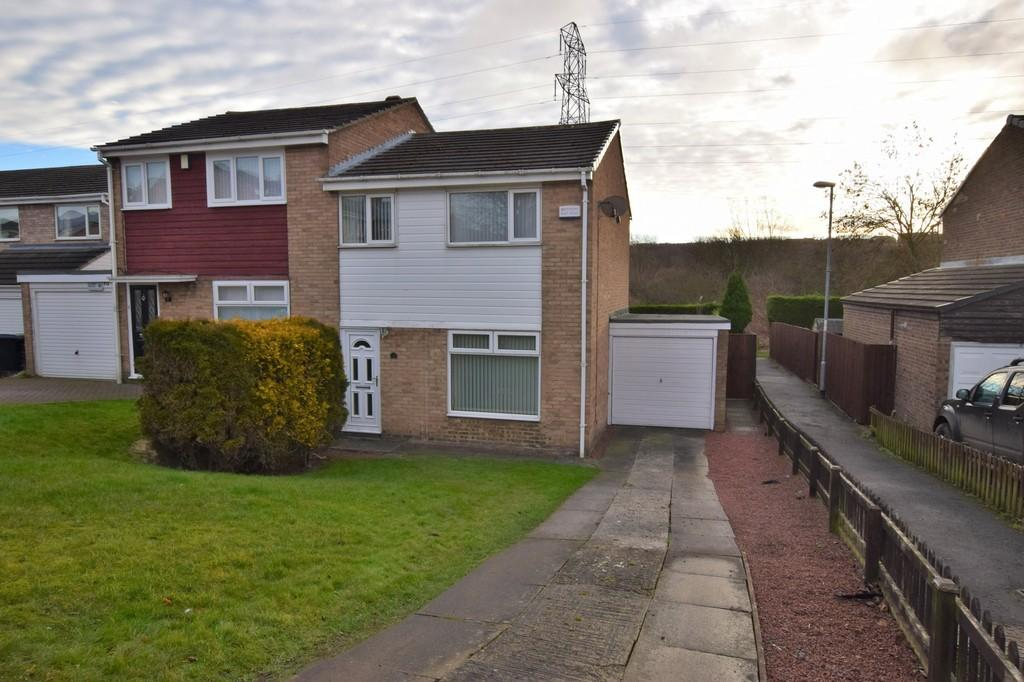 3 Bedrooms Semi Detached House for sale in Campion Drive, Tanfield Lea, Stanley