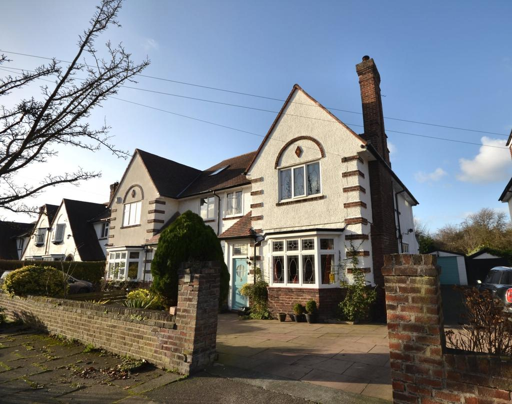 5 Bedrooms Semi Detached House for sale in Cranmer Road, Didsbury
