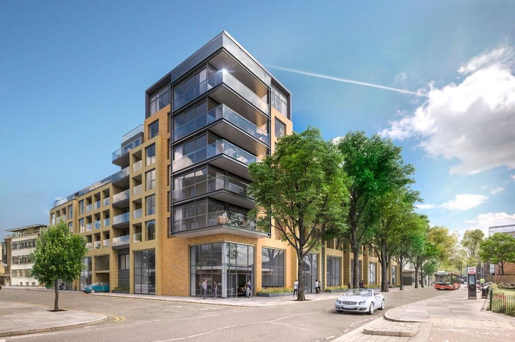 2 Bedrooms Flat for sale in The Taper Building, London