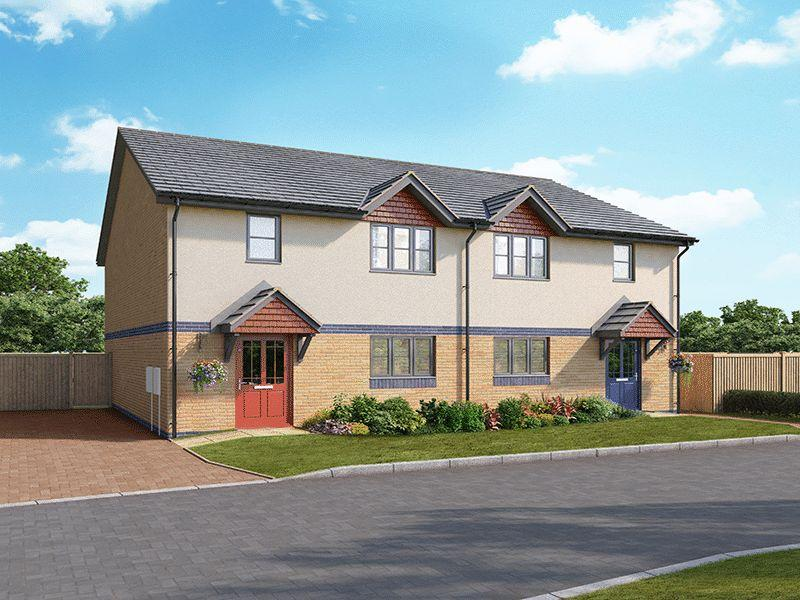3 Bedrooms Semi Detached House for sale in The Pembroke - Help to Buy