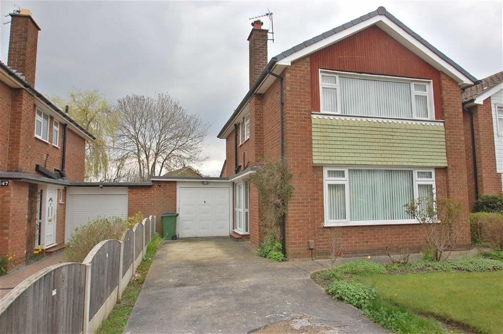 3 Bedrooms Link Detached House for sale in Eskdale Avenue, Bramhall, Cheshire