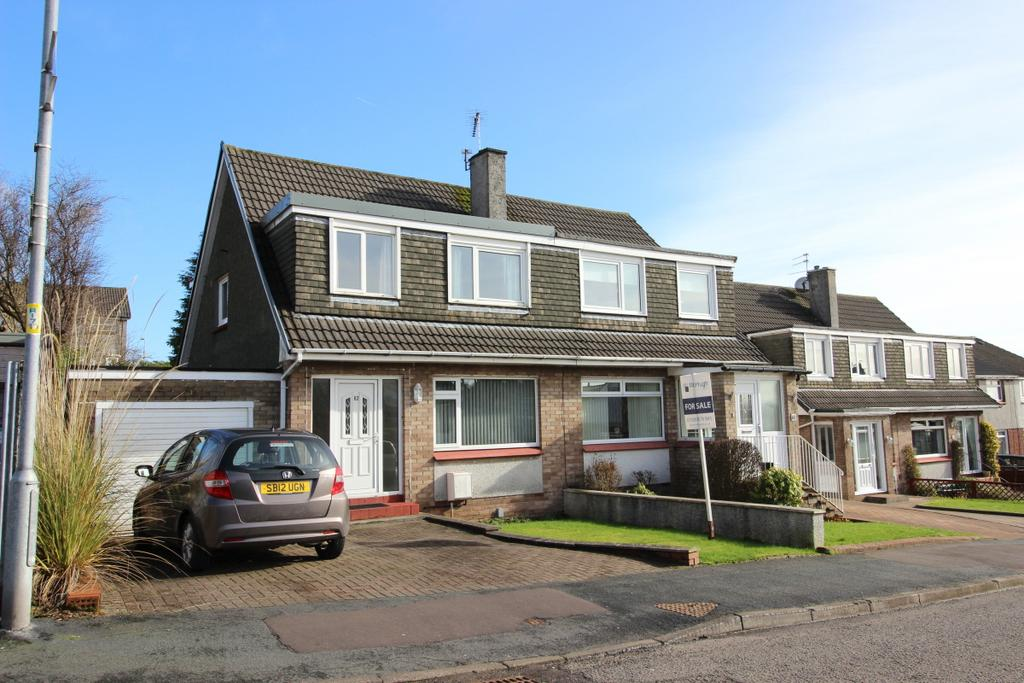 3 Bedrooms Semi Detached House for sale in 62 Farm Road, Duntocher, G81 6JZ