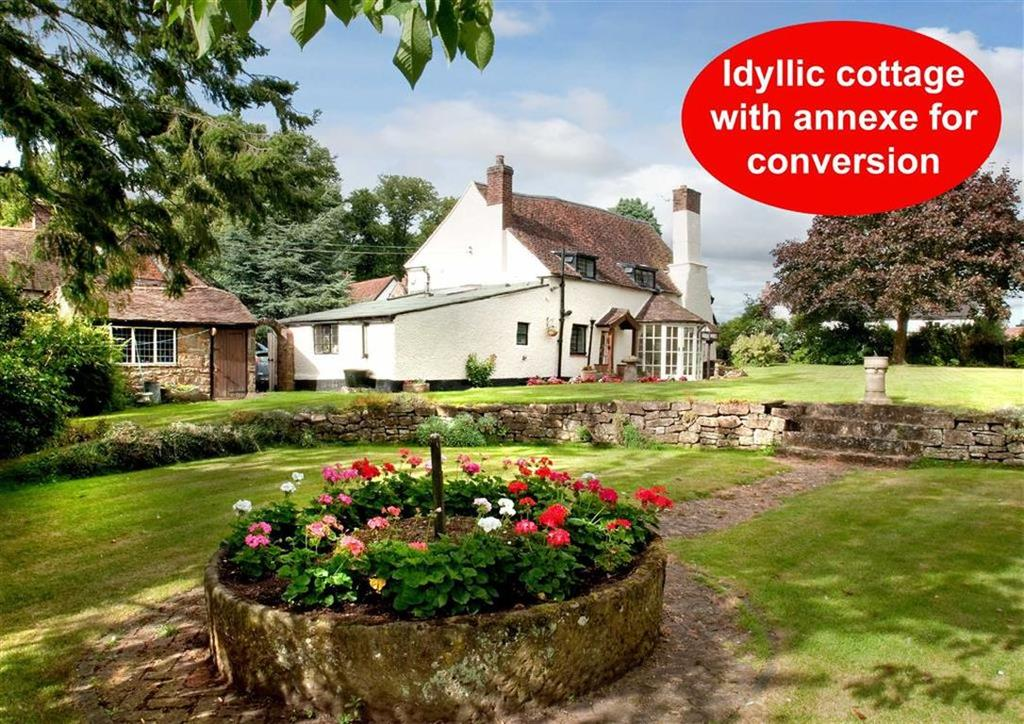 3 Bedrooms Cottage House for sale in Elm Cottage, Vicarage Bank, Alveley, Bridgnorth, Shropshire, WV15