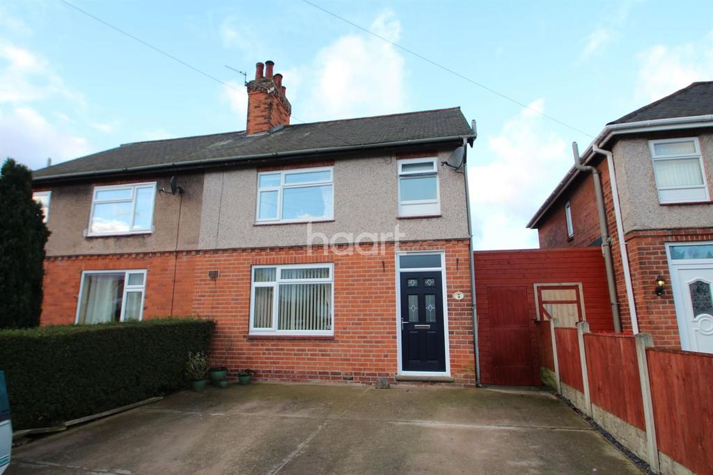 3 Bedrooms Semi Detached House for sale in Windmill Grove, Hucknall