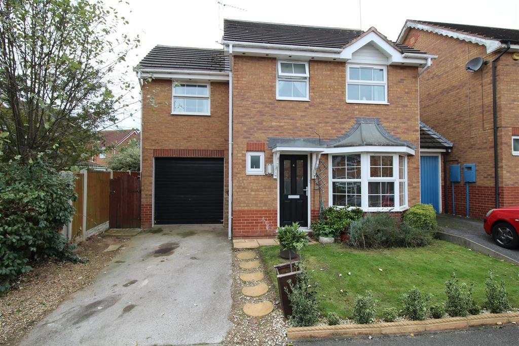 4 Bedrooms Link Detached House for sale in Newton Close, Gateford, Worksop