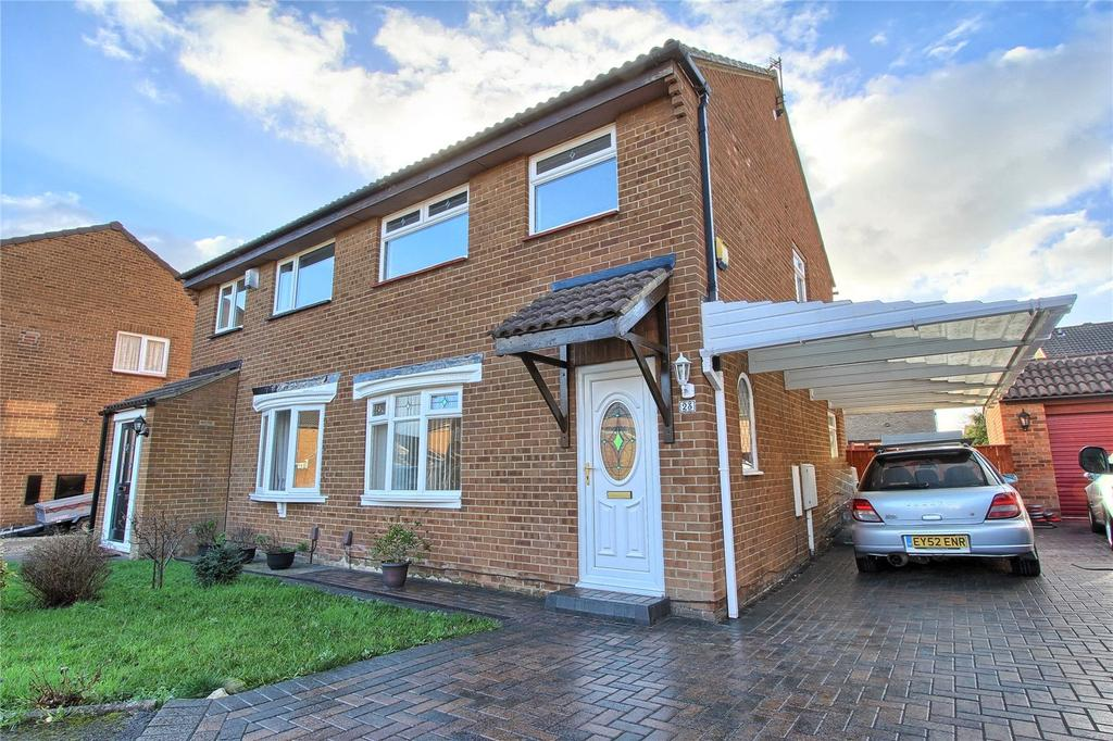 3 Bedrooms Semi Detached House for sale in Wansford Close, Owington Farm
