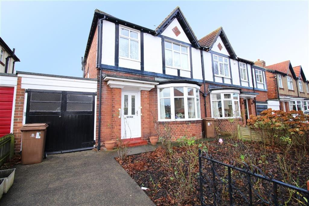 3 Bedrooms Semi Detached House for sale in Meadow Road, Whitley Bay