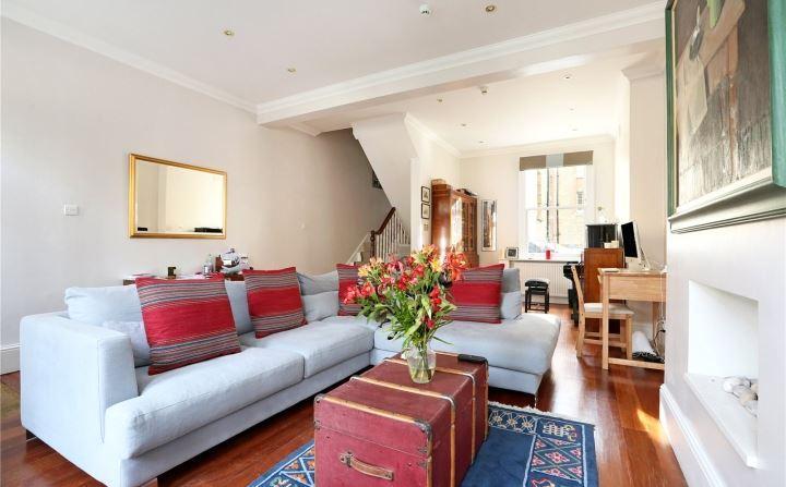 5 Bedrooms Terraced House for sale in Warriner Gardens, Battersea, London, SW11