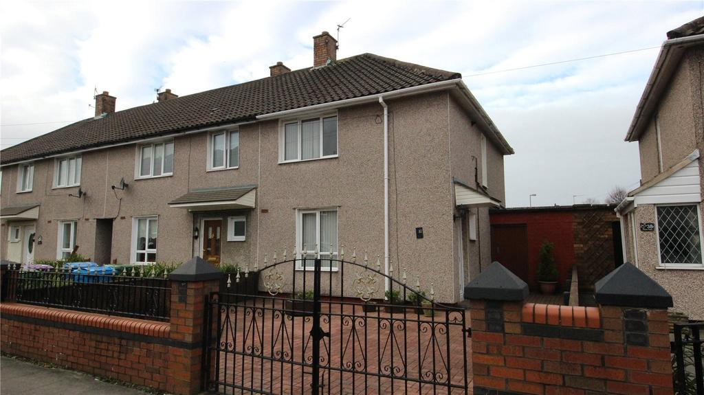 2 Bedrooms End Of Terrace House for sale in Trispen Road, Liverpool, Merseyside, L11