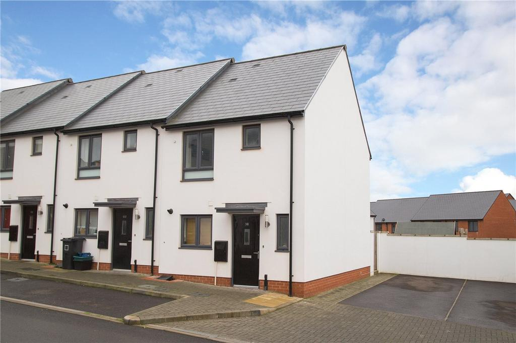 2 Bedrooms End Of Terrace House for sale in Milbury Farm Meadow, Exminster, Exeter, EX6