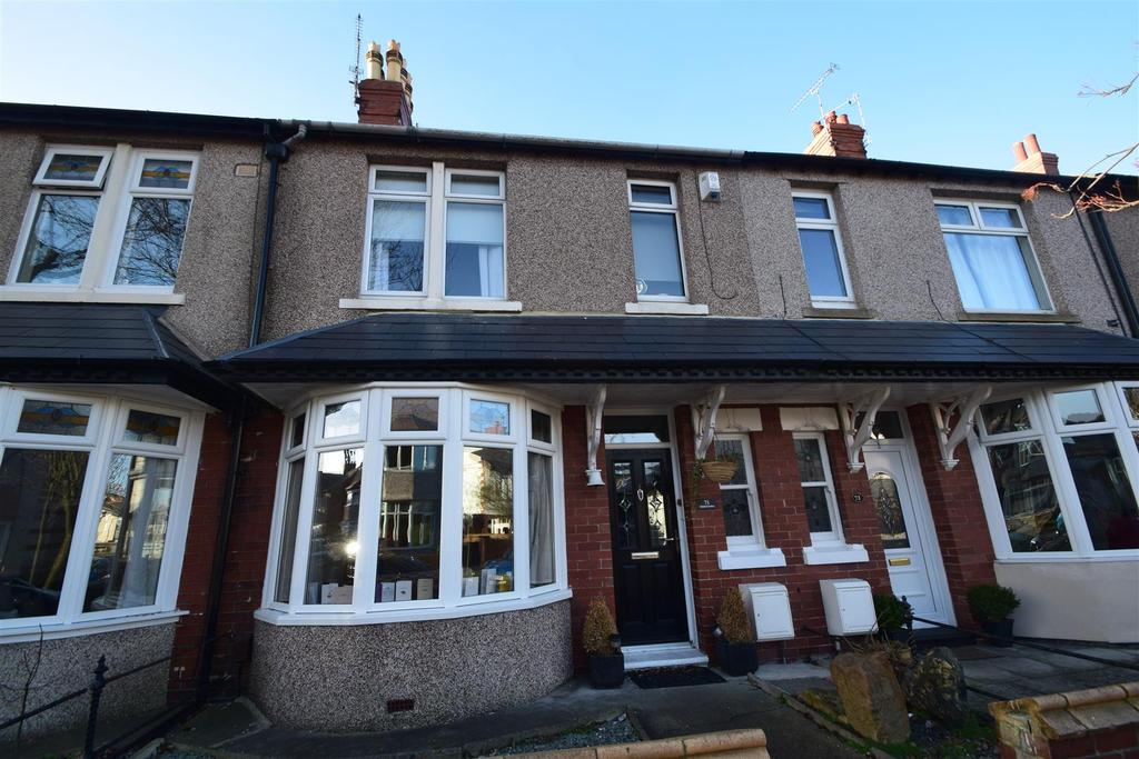 4 Bedrooms Terraced House for sale in Bideford Gardens, Whitley Bay
