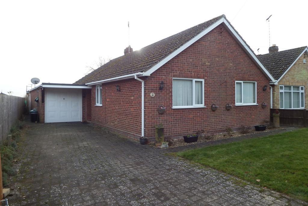 3 Bedrooms Detached Bungalow for sale in Church Lane, Moulton