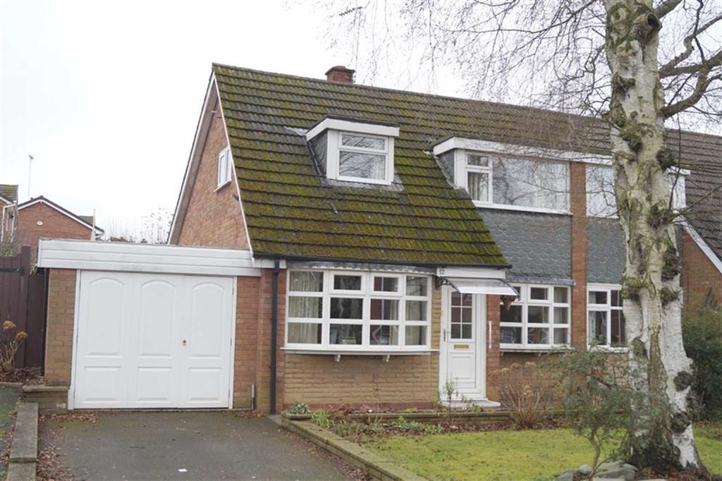 2 Bedrooms Semi Detached House for sale in Birchglade, Finchfield, Wolverhampton