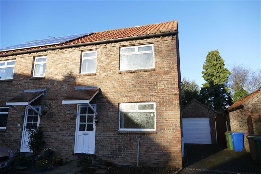 3 Bedrooms Semi Detached House for sale in Church Close, Market Weighton