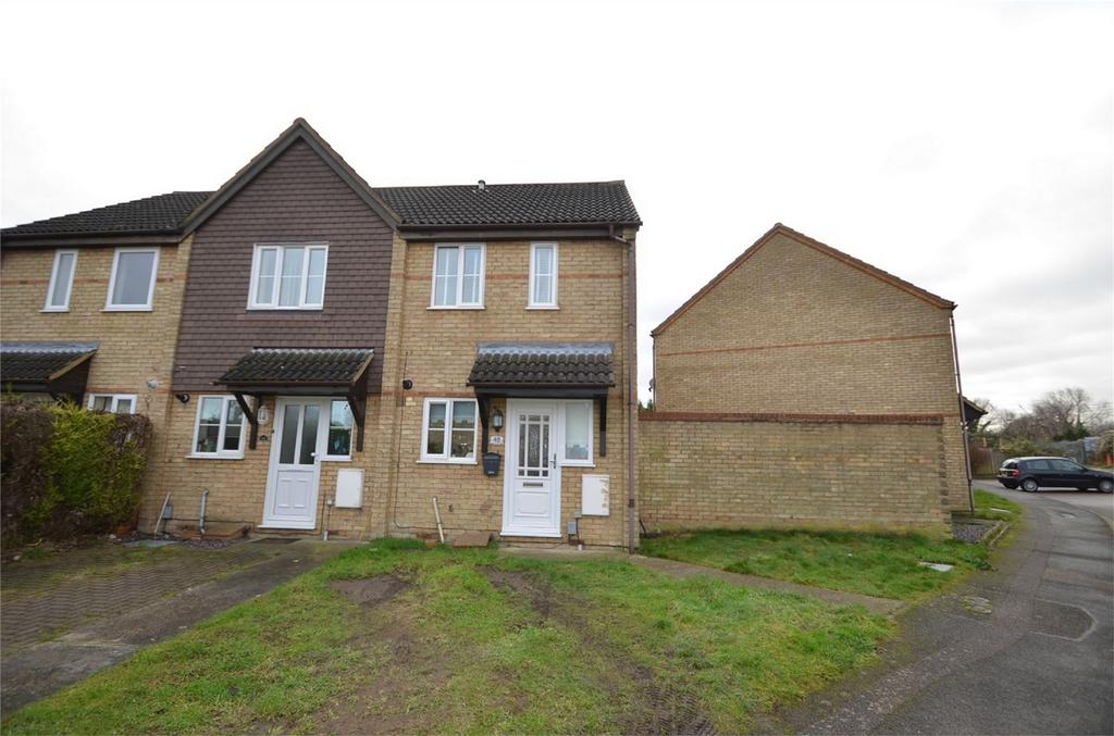 2 Bedrooms End Of Terrace House for sale in Hospital Road, ARLESEY, Bedfordshire