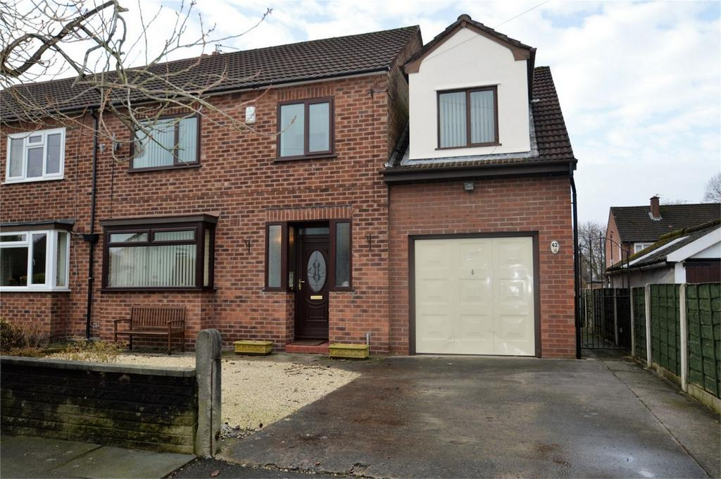 4 Bedrooms Semi Detached House for sale in Parkbrook Road, MANCHESTER
