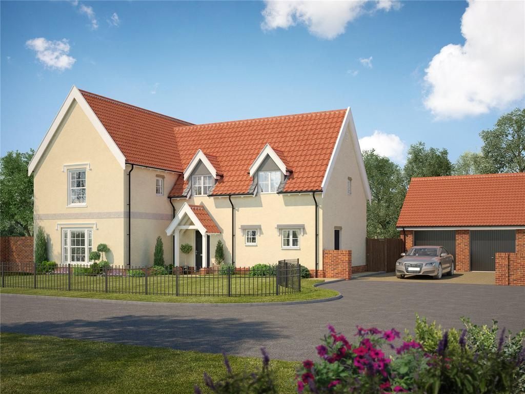 4 Bedrooms Detached House for sale in Plot 16 - Foundry Place, Grundisburgh, Woodbridge, Suffolk, IP13