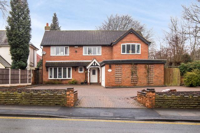 5 Bedrooms Detached House for sale in Belwell Lane,Four Oaks,Sutton Coldfield