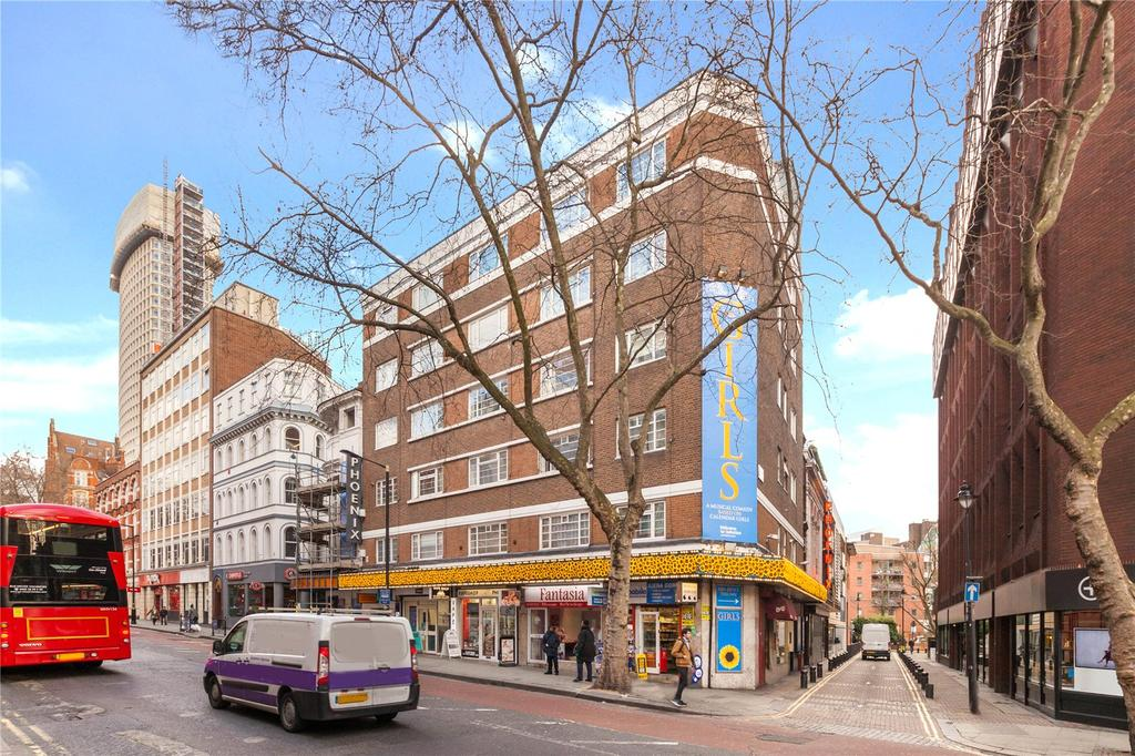 Studio Flat for sale in Charing Cross Road, Covent Garden, London