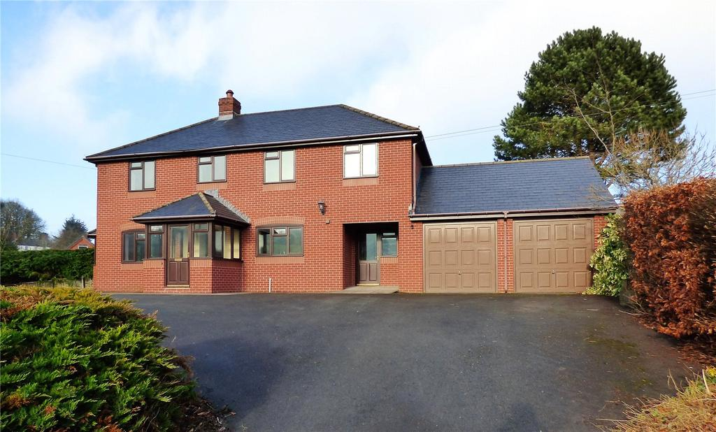 3 Bedrooms Detached House for sale in Lloyney, Knighton, Powys