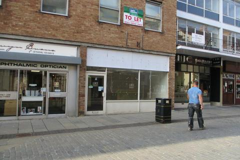 Retail property (high street) to rent - Lock-up Shop & Premises, 6 Wyndham Street, Bridgend, CF31 1ED