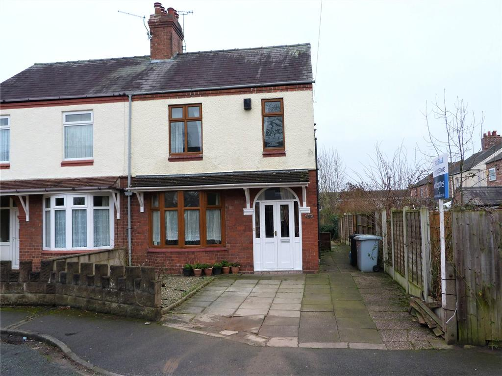 3 Bedrooms Semi Detached House for sale in Alma Avenue, Crewe, Cheshire, CW1