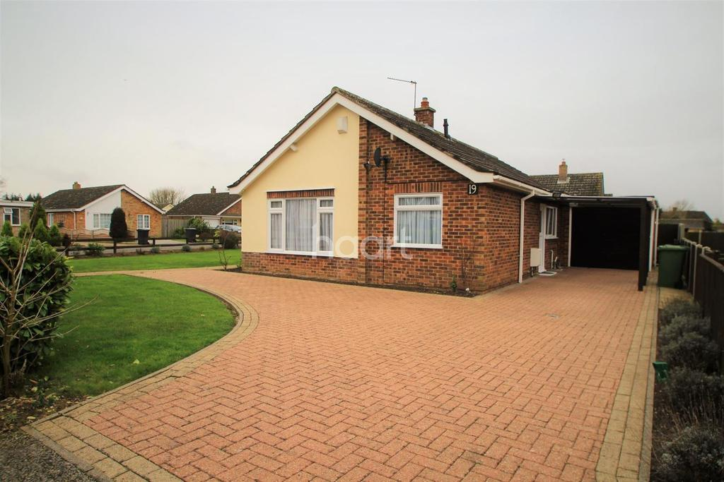 2 Bedrooms Bungalow for sale in Churchill Close, Watton